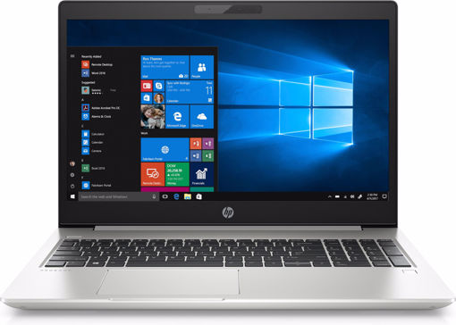 "Picture of HP ProBook 450 G6 Silver Notebook 39.6 cm (15.6"") 1366 x 768 pixels 8th gen Intel® Core™ i5 i5-8265U 8 GB DDR4-SDRAM 256 GB SSD"