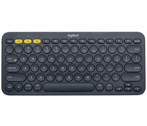 Picture of Logitech K380 mobile device keyboard Black Bluetooth