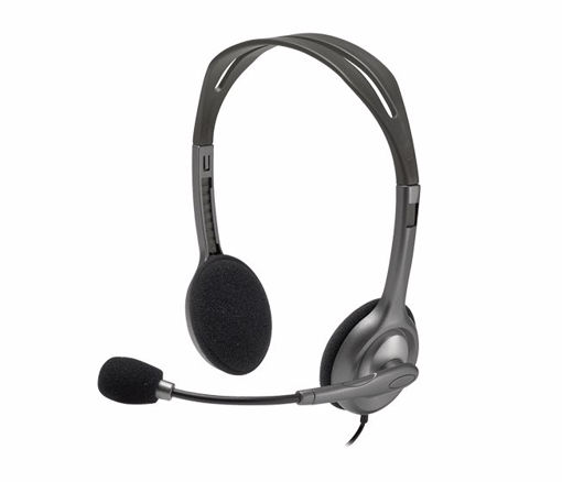 Picture of Logitech H110 Binaural Head-band Black,Silver