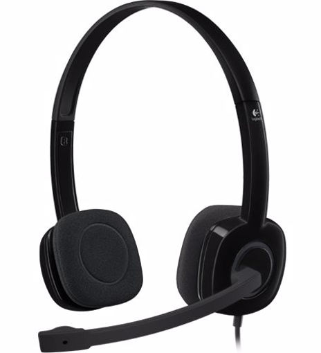 Picture of Logitech H151 Binaural Head-band Black