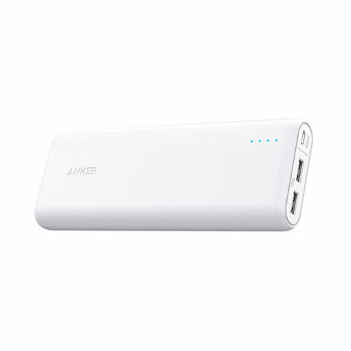 Picture of Anker PowerCore 15600 with PIQ White power bank 15600 mAh