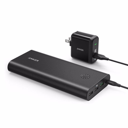Picture of Anker PowerCore+ 26800mAh & PowerPort+ power bank Black