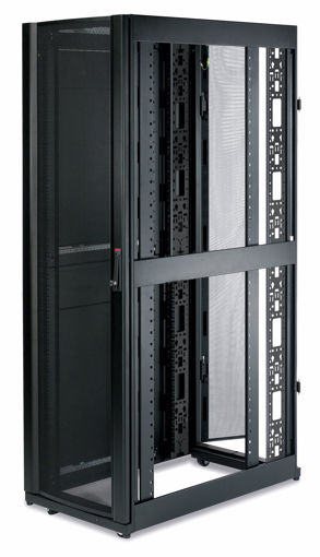 Picture of APC NetShelter SX 42U 600mm Wide x 1070mm Deep Enclosure with Sides Black Freestanding rack