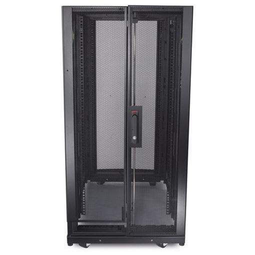 Picture of APC NetShelter SX 24U 600mm x 1070mm Deep Enclosure Freestanding rack Black