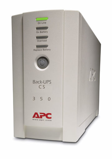 Picture of APC Back-UPS uninterruptible power supply (UPS) Standby (Offline) 350 VA 210 W 4 AC outlet(s)