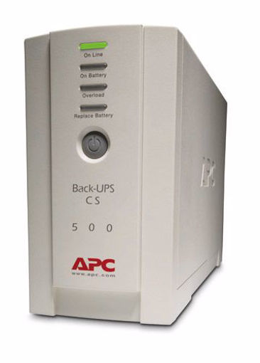 Picture of APC Back-UPS uninterruptible power supply (UPS) Standby (Offline) 500 VA 300 W 4 AC outlet(s)
