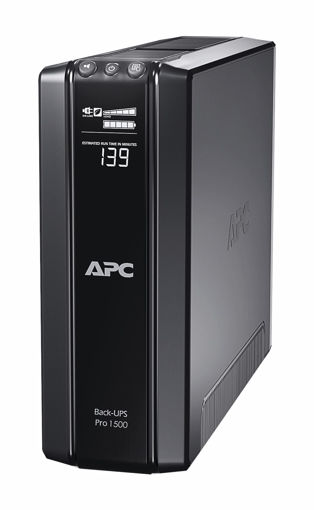 Picture of APC Back-UPS Pro uninterruptible power supply (UPS) Line-Interactive 1500 VA 865 W 10 AC outlet(s)
