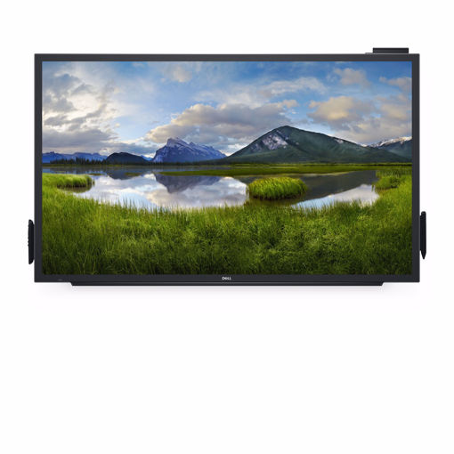"""Picture of DELL C5518QT touch screen monitor 139.7 cm (55"""") 3840 x 2160 pixels Black Multi-touch"""