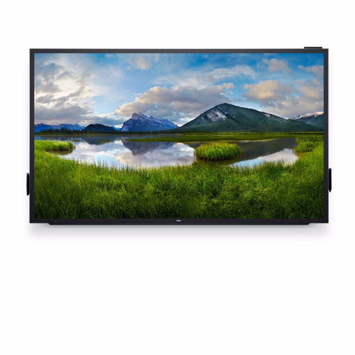 """Picture of DELL C8618QT touch screen monitor 2.17 m (85.6"""") 3840 x 2160 pixels Black,Silver Multi-touch Multi-user"""