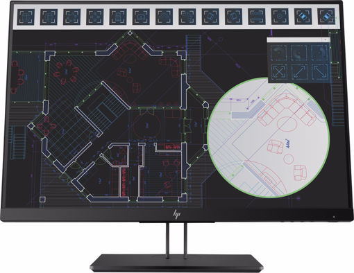 "Picture of HP Z24i G2 LED display 61 cm (24"") WUXGA Flat Black"