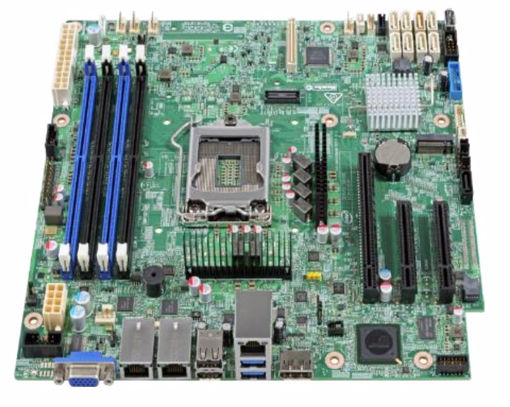 Picture of Intel S1200SPLR server/workstation motherboard Micro ATX Intel® C236