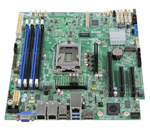 Picture of Intel S1200SPSR server/workstation motherboard Micro ATX Intel® C232
