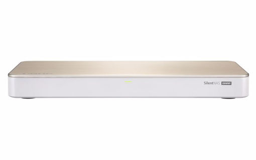 Picture of QNAP HS-453DX Ethernet LAN Tower Gold,White NAS