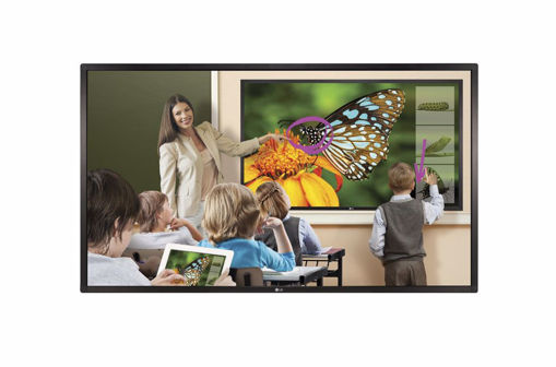 "Picture of LG KT-T751 signage display 190.5 cm (75"") Touchscreen Black"
