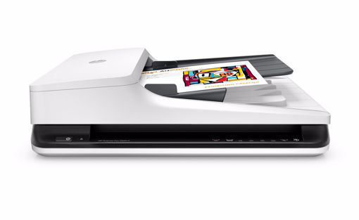 Picture of HP Scanjet Pro 2500 f1 + 3 year NBD Onsite Exchange HW Support 1200 x 1200 DPI Flatbed & ADF scanner Black,White A4