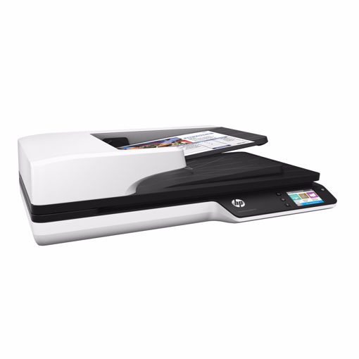 Picture of HP Scanjet Pro 4500 fn1 1200 x 1200 DPI Flatbed & ADF scanner Grey A4
