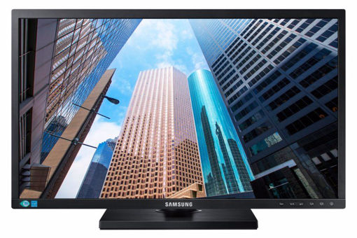 "Picture of Samsung LS24E65KBWV/XY LED display 61 cm (24"") WUXGA Flat Black"