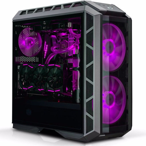 Picture of Cooler Master MasterCase H500P Midi-Tower Black,Metallic