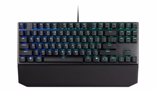 Picture of Cooler Master Gaming MK730 keyboard USB QWERTY US English Metallic