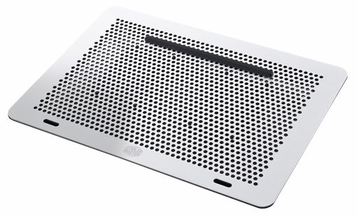 """Picture of Cooler Master MasterNotepal notebook cooling pad 43.2 cm (17"""") Black,Silver"""