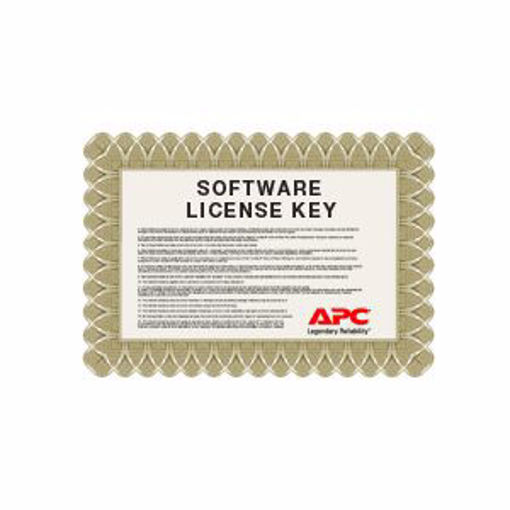 Picture of APC NBSV1010 software license/upgrade 10 license(s)