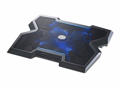 "Picture of Cooler Master NotePal X3 notebook cooling pad 43.2 cm (17"") Black"