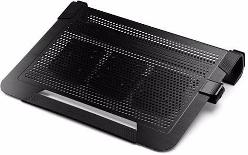 "Picture of Cooler Master NotePal U3 Plus notebook cooling pad 48.3 cm (19"") 1800 RPM Black"