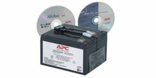 Picture of APC Replacement Battery Cartridge #9 Sealed Lead Acid (VRLA)