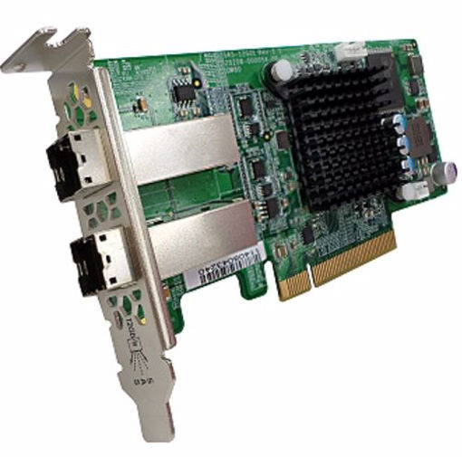 Picture of QNAP SAS-12G2E interface cards/adapter Internal