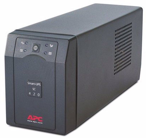 Picture of APC Smart-UPS uninterruptible power supply (UPS) Line-Interactive 420 VA 260 W 4 AC outlet(s)