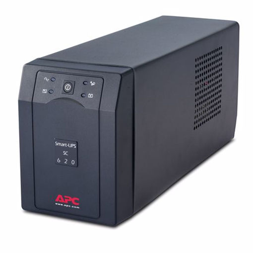Picture of APC Smart-UPS uninterruptible power supply (UPS) Line-Interactive 620 VA 390 W 4 AC outlet(s)