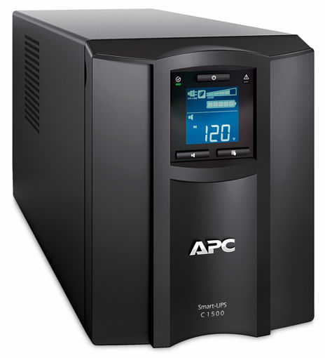 Picture of APC SMC1500IC uninterruptible power supply (UPS) Line-Interactive 1500 VA 900 W 8 AC outlet(s)