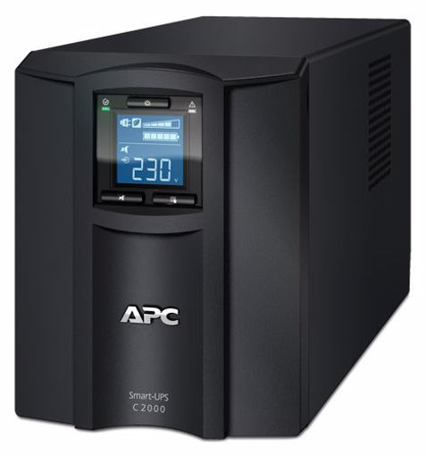 Picture of APC SMC2000I uninterruptible power supply (UPS) Line-Interactive 2000 VA 1300 W 7 AC outlet(s)