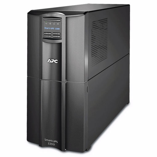 Picture of APC Smart-UPS 2200VA uninterruptible power supply (UPS) Line-Interactive 1980 W 9 AC outlet(s)