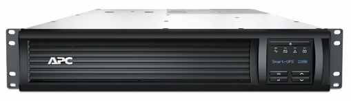 Picture of APC Smart-UPS 2200VA LCD RM 2U 230V with SmartConnect uninterruptible power supply (UPS) Line-Interactive 1980 W 8 AC outlet(s)