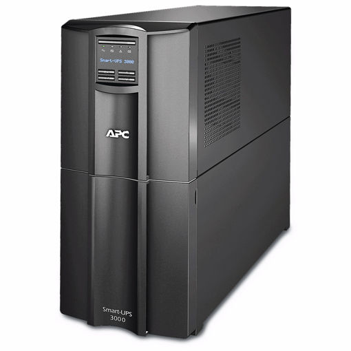 Picture of APC SMART-UPS 3000VA LCD 230V WITH SMARTCONNECT uninterruptible power supply (UPS) Line-Interactive 2700 W 9 AC outlet(s)