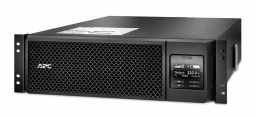 Picture of APC Smart-UPS On-Line uninterruptible power supply (UPS) Double-conversion (Online) 5000 VA 4500 W 10 AC outlet(s)