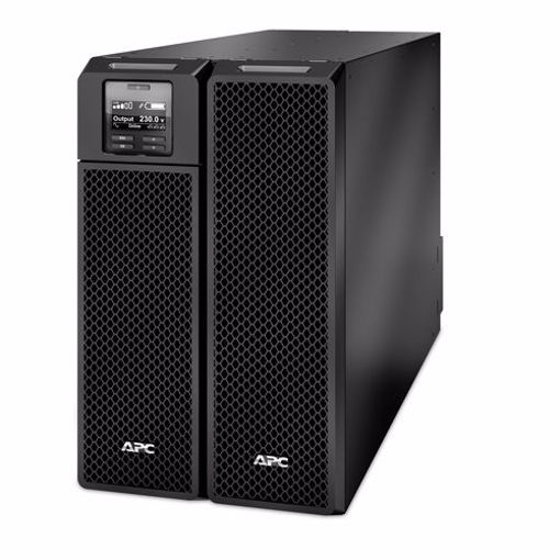 Picture of APC Smart-UPS On-Line uninterruptible power supply (UPS) Double-conversion (Online) 8000 VA 8000 W 10 AC outlet(s)