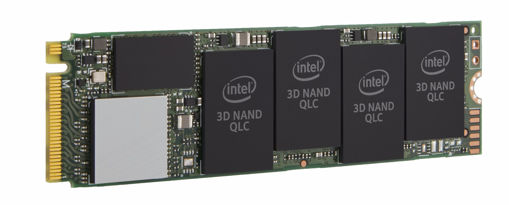 Picture of Intel Consumer 660p internal solid state drive M.2 512 GB PCI Express 3.0 3D2 QLC NVMe