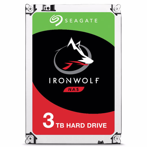 """Picture of Seagate IronWolf ST3000VN007 internal hard drive 3.5"""" 3000 GB Serial ATA III"""