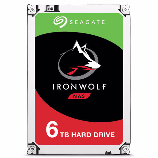 """Picture of Seagate IronWolf ST6000VN0033 internal hard drive 3.5"""" 6000 GB Serial ATA III"""
