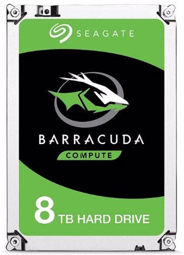 "Picture of Seagate Barracuda ST8000DM004 internal hard drive 3.5"" 8000 GB Serial ATA III"