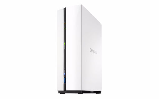 Picture of QNAP TS-128A NAS/storage server Ethernet LAN Mini Tower White