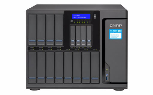 Picture of QNAP TS-1685 Ethernet LAN Tower Black NAS