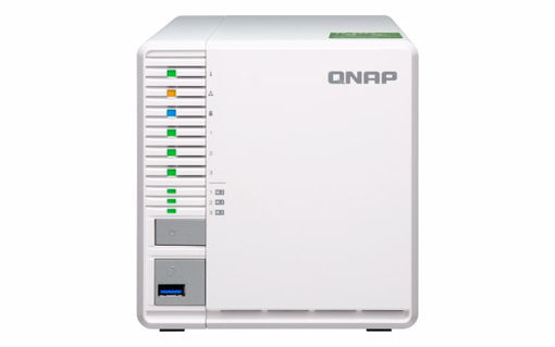 Picture of QNAP TS-332X Ethernet LAN Tower Grey,White NAS