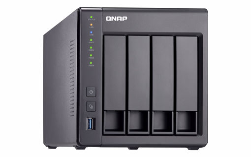 Picture of QNAP TS-431X2 Ethernet LAN Tower Black NAS