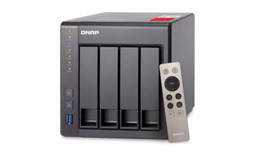 Picture of QNAP TS-451+ Ethernet LAN Tower Black NAS