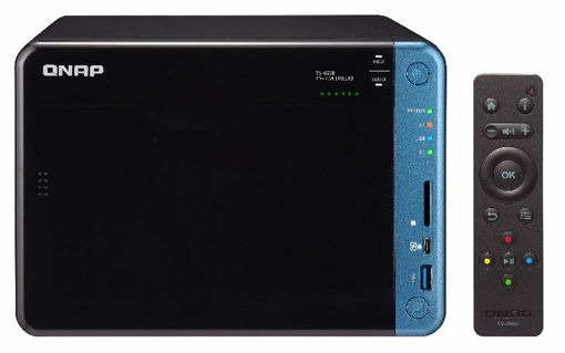 Picture of QNAP TS-653B Ethernet LAN Tower Black NAS
