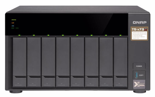 Picture of QNAP TS-873 Ethernet LAN Tower Black NAS