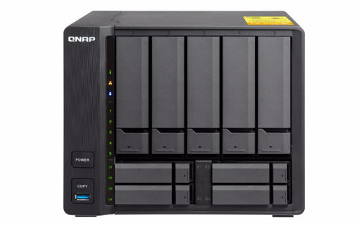 Picture of QNAP TS-932X Ethernet LAN Tower Black NAS